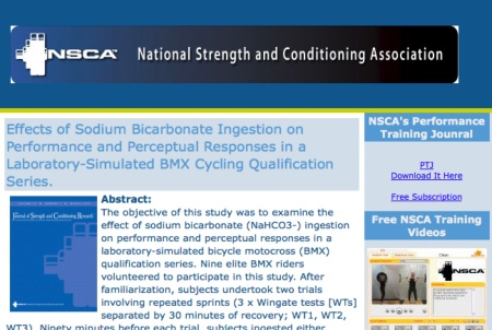 NSCA Performance Journal