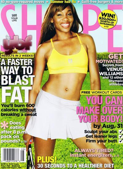 Venus in Shape Magazine