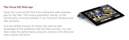 Focus X2i iPad