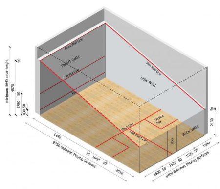 WSF Court Measurement